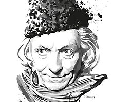 First Doctor by hans-zombee