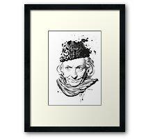 First Doctor Framed Print