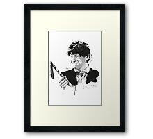 Second Doctor Framed Print