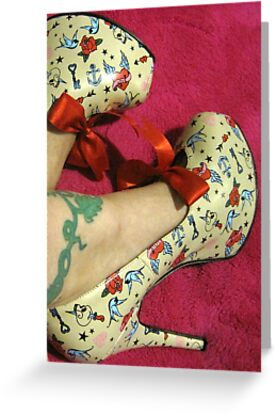 Rockabilly Shoes by Tracey Phillips