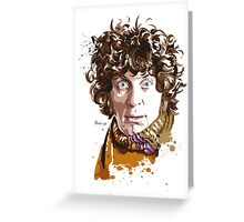 Forth Doctor Greeting Card