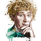 Sixth doctor by hans-zombee