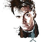 Tenth Doctor by hans-zombee