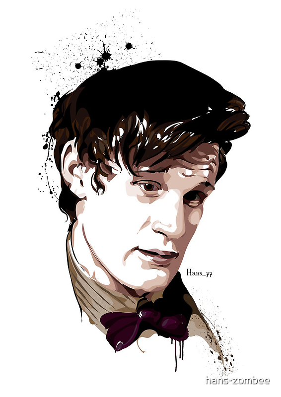 Eleventh Doctor by hans-zombee