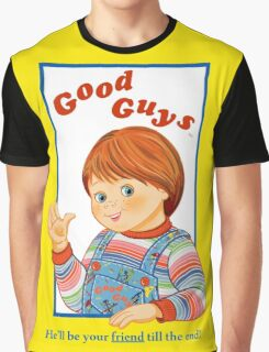 Child's Play - Good Guys - Chucky Graphic T-Shirt