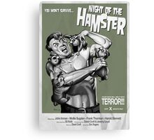 Night of the Hamster Canvas Print