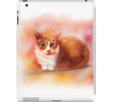Crystal the Toothless Cat iPad Case/Skin