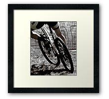 Things that dirt  Framed Print