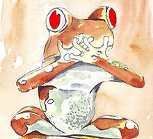 Tree Frog 1 by Maree  Clarkson