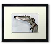 Just wondering if.... Framed Print