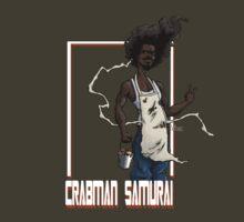 Crabman Samurai by PanBlanco37
