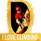 I Love Climbing by noeljerke