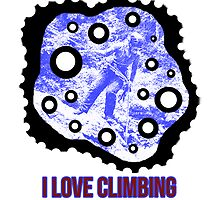 I Love Climbing by noeljerke