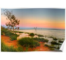 Stunning Menindee lakes Poster