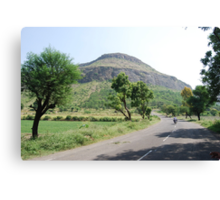 On the way to Shirdi Canvas Print