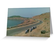 Kashid beach Greeting Card
