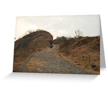 Kamshet - slopes of hell Greeting Card