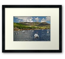 Teelin Bay and Slieve League Framed Print