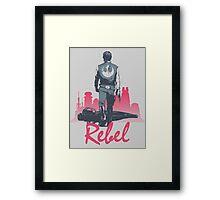 Rebel (light version) Framed Print