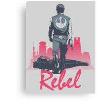 Rebel (light version) Canvas Print