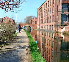Taking a breather down by the canal. by ronsaunders47