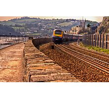 The Brunel Railway at Teignmouth Photographic Print