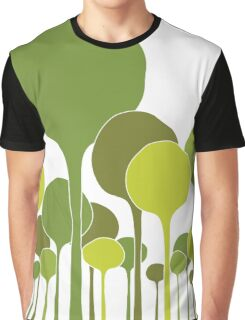Green Palette Graphic T-Shirt