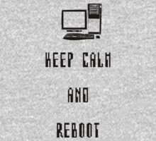 Keep Calm and Reboot One Piece - Long Sleeve