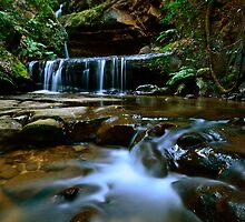 Trinity Falls. by Warren  Patten