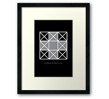 Design 82 Framed Print