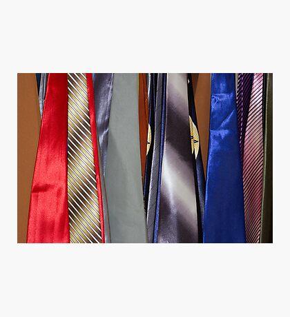 Tie Rack Photographic Print