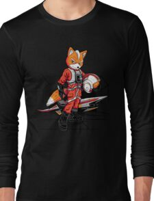 Rebel Fox Long Sleeve T-Shirt