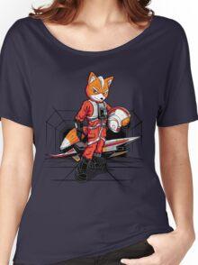 Rebel Fox Women's Relaxed Fit T-Shirt