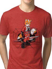 Rebel Fox Tri-blend T-Shirt