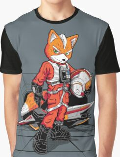 Rebel Fox Graphic T-Shirt