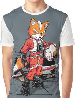 Rebel Fox Graphic T-Shirt