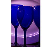 Purple Setting Photographic Print