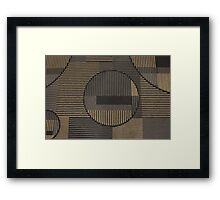 Test Pattern Framed Print