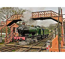 Buckfastliegh engine  Photographic Print
