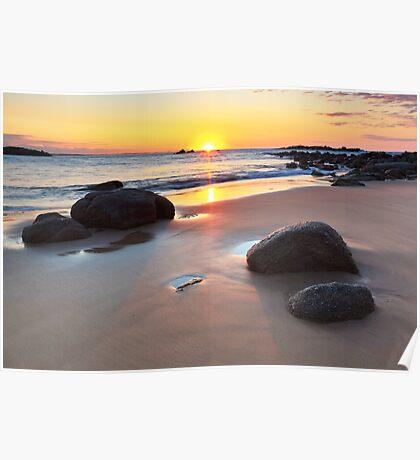 Horseshoe Bay Sunrise Poster