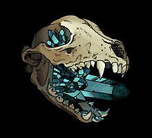 Crystal Skull by Amanda Zito