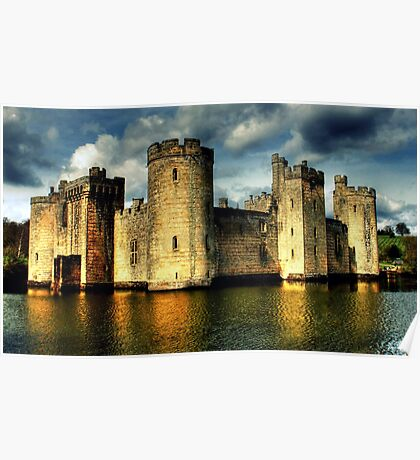Bodiam Castle (National Trust) Poster