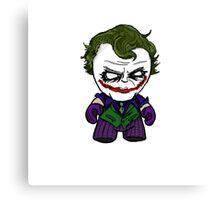 Chibi Joker Canvas Print