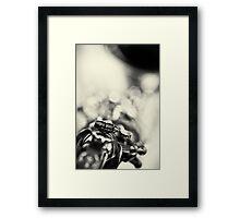 Bird! (Dark Version) Framed Print