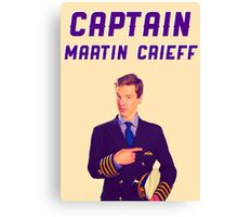 Captain Martin Crieff Canvas Print