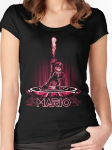 MARIOTRON Women's Fitted Scoop T-Shirt