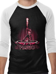 MARIOTRON Men's Baseball ¾ T-Shirt