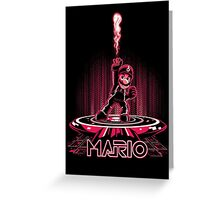 MARIOTRON Greeting Card