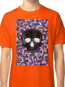 Abstract skull doodle design Classic T-Shirt