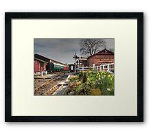 Tenterden Railway station  Framed Print